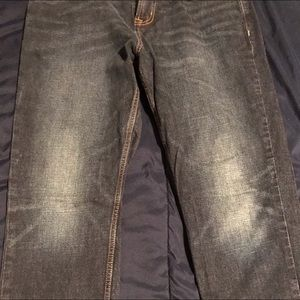 Old Navy Athletic Straight Jeans 34x34